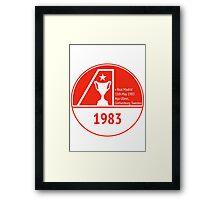 The Dons 1983 Framed Print