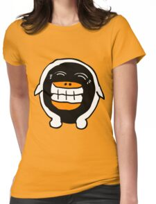 Wee Happy Penguin Cartoon  Womens Fitted T-Shirt
