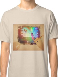 Hands drawing a picture with fairy Classic T-Shirt