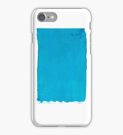 Blue Screen Print iPhone Case/Skin