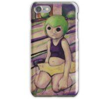 Little Girl Sitting iPhone Case/Skin