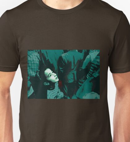 Girl in the crowd  Unisex T-Shirt