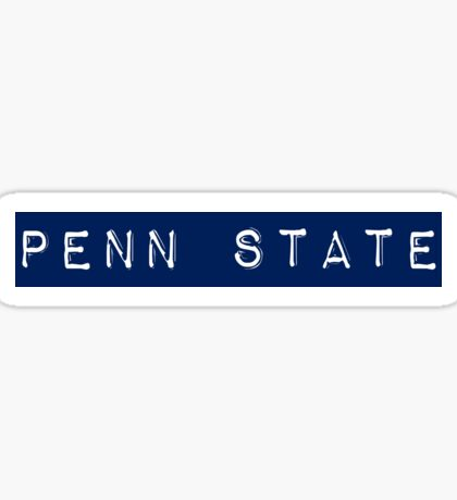 Penn State Stamp Sticker