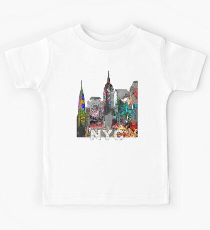 New York City Graffiti Kids Tee