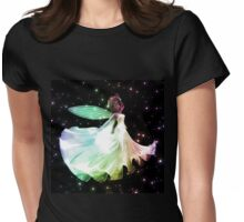 Fairy dancing 4 Womens Fitted T-Shirt