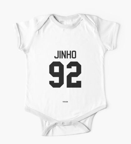 Jinho Jersey (Black Text) One Piece - Short Sleeve