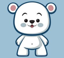 Polar Bear Boy Kawaii Kids Tee