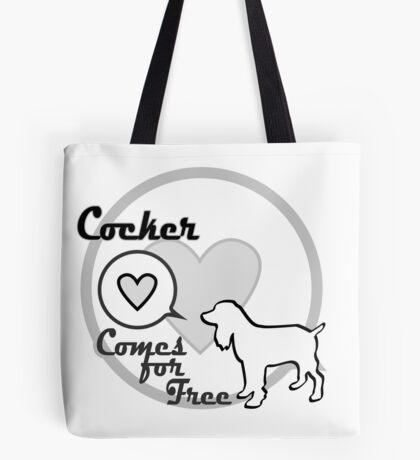 Cocker Spaniel Dog Clothing Gift Tote Bag