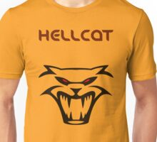 DODGE HELLCAT FRONT VIEW Unisex T-Shirt