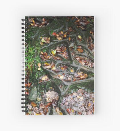 British Woodland in Autumn - Roots #1 Spiral Notebook