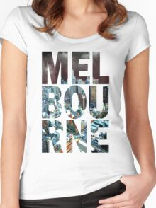 Melbourne Women's Fitted Scoop T-Shirt