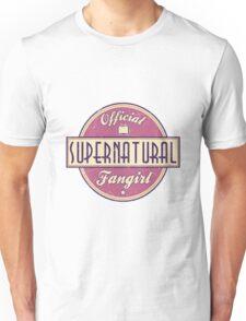 Supernatural Fangirl Unisex T-Shirt
