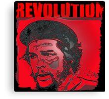 Che Guevara revolt Canvas Print