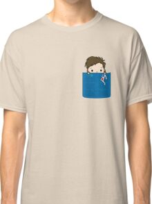 Tenth Doctor in my Pocket Classic T-Shirt