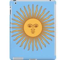 Sol de Mayo- The Sun of May iPad Case/Skin