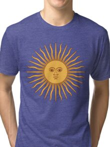 Sol de Mayo- The Sun of May Tri-blend T-Shirt