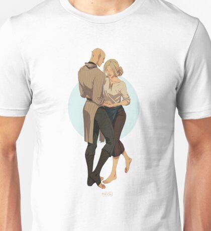 Ballroom dance practice Unisex T-Shirt