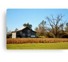 Barn Landscape Canvas Print