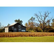 Barn Landscape Photographic Print