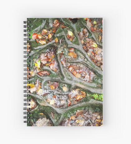 British Woodland in Autumn - Roots #2 Spiral Notebook