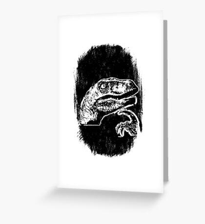 9GAG - THE 'IF' DINOSAUR Greeting Card