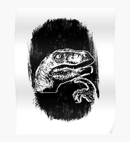 9GAG - THE 'IF' DINOSAUR Poster