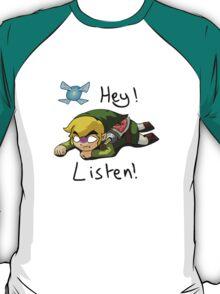 Link & Navi - The Legend Of Zelda T-Shirt