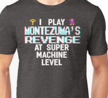Montezuma's revenge, white font (atari 3D) Unisex T-Shirt