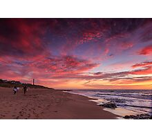 After a Days Surf Photographic Print