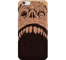 Screaming zombie iPhone Case/Skin