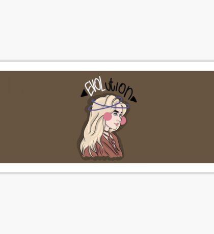 Sabrina Carpenter Evolution Art Sticker