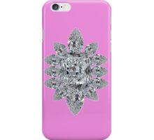Bling Brooch Purple Iphone Cover iPhone Case/Skin