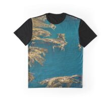 Decorative Sea Graphic T-Shirt