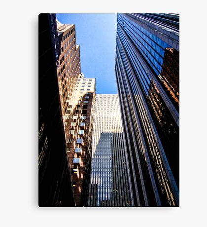 Look Up Skyscrapers Canvas Print