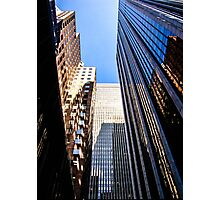Look Up Skyscrapers Photographic Print