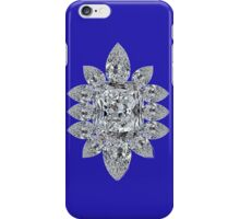Bling Brooch Blue Iphone Cover iPhone Case/Skin