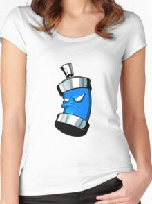 SPRAY CAN !!! Women's Fitted Scoop T-Shirt