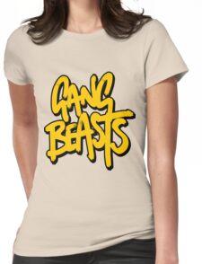 Gang Beasts Logo HD Womens Fitted T-Shirt