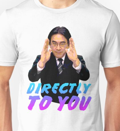 Directly To You - Satoru Iwata Unisex T-Shirt