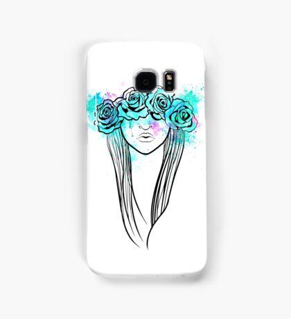Elegant Mask - Light Background Samsung Galaxy Case/Skin