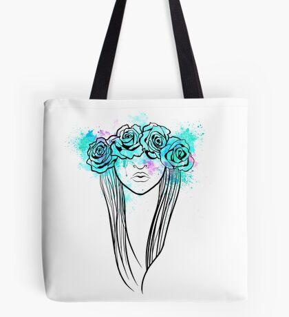 Elegant Mask - Light Background Tote Bag