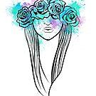 Elegant Mask - Light Background by RileyRiot