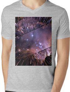 Trippy Series - Speed of light Episode I Mens V-Neck T-Shirt