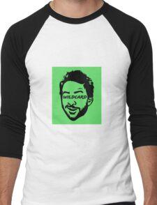 Green man Wildcard  Men's Baseball ¾ T-Shirt