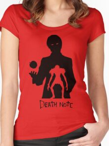 DEATH NOTE Women's Fitted Scoop T-Shirt