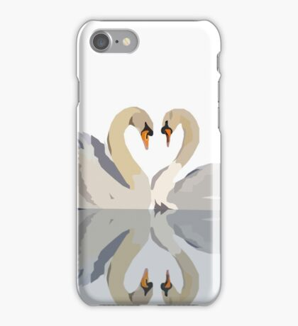 Perfect Pair of Swans iPhone Case/Skin