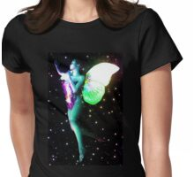 Fairy in stars 2 Womens Fitted T-Shirt
