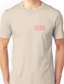 Cute Pink Drip Graphic Unisex T-Shirt