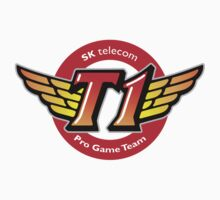 SKT T1 Logo (best quality ever) One Piece - Short Sleeve