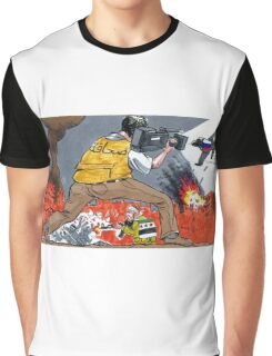 no more in the world of independent media Graphic T-Shirt